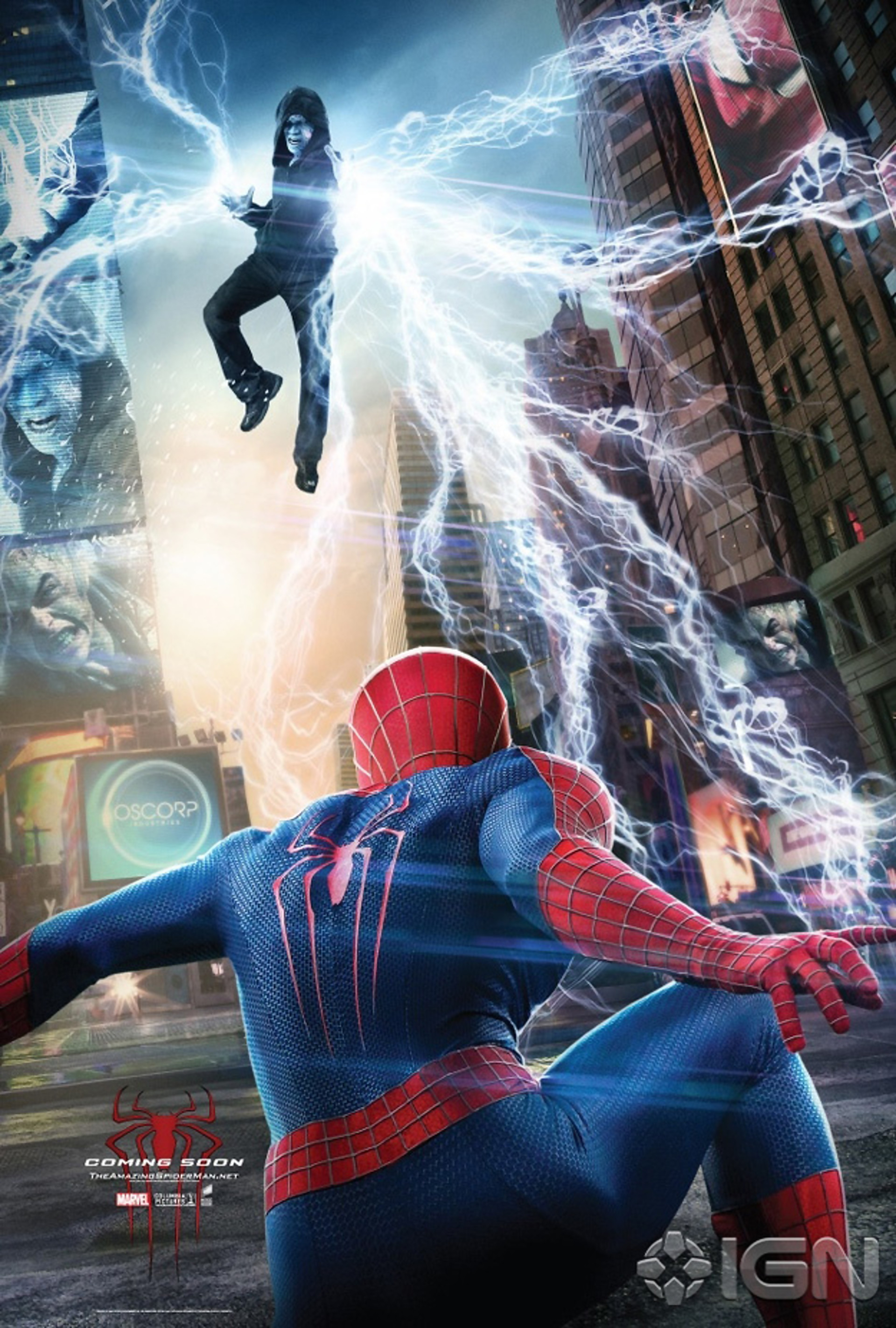 the amazing spider man 2 trois nouveaux posters du film. Black Bedroom Furniture Sets. Home Design Ideas