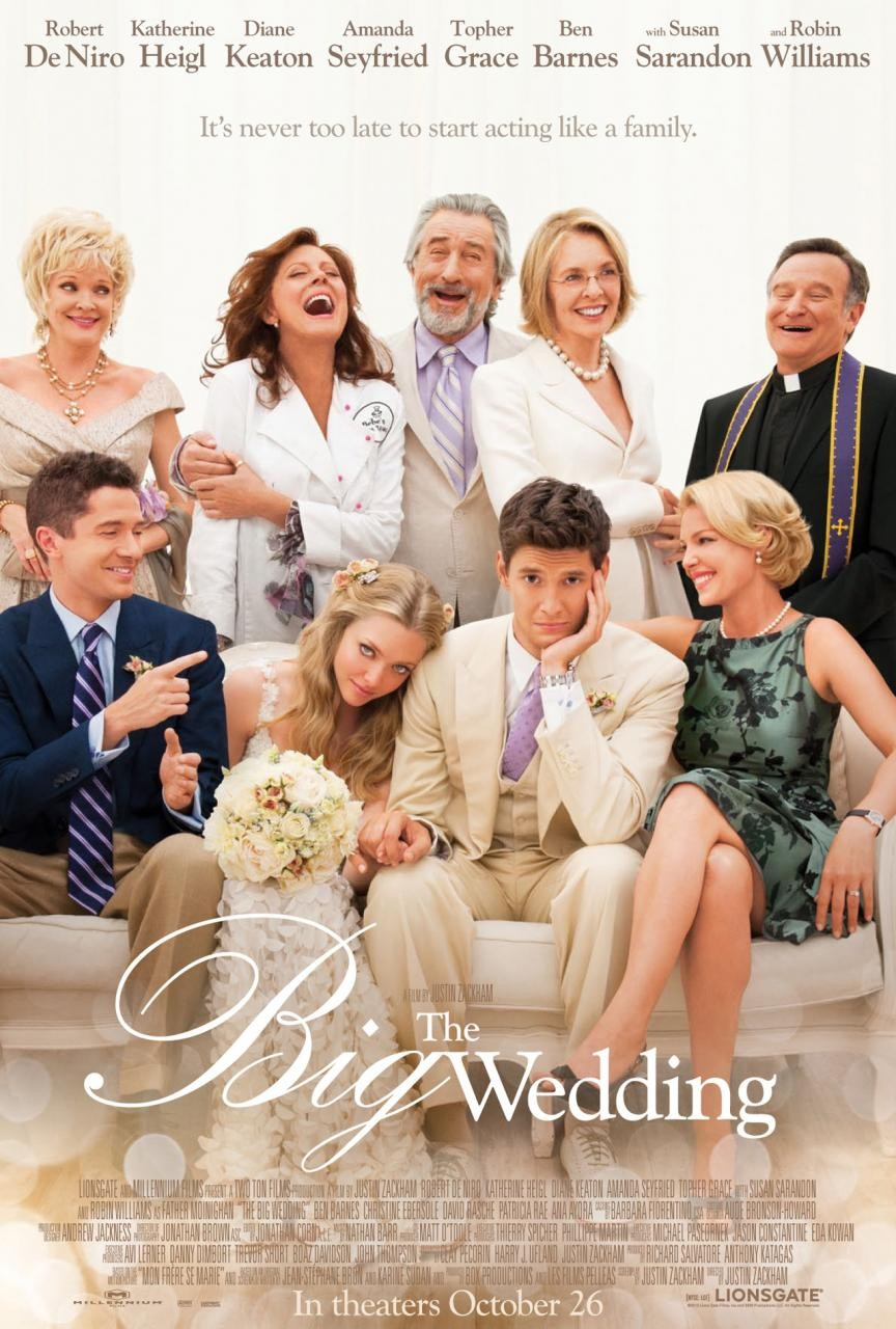The Big Wedding [BRRIP] 600 MB