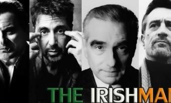The Irishman de Martin Scorsese avec De Niro, Al Pacino et Joe Pesci directement sur Netflix