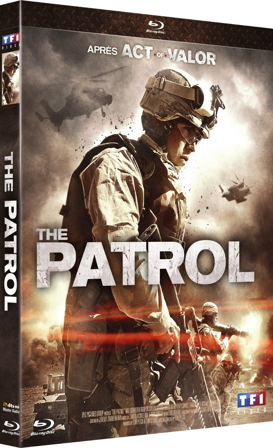 le film de guerre in dit the patrol sort aujourd 39 hui en dvd et blu ray. Black Bedroom Furniture Sets. Home Design Ideas