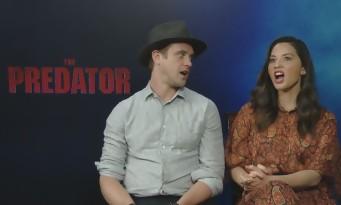 The Predator : quand les acteurs du film imitent le son du Predator !