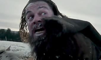 Leonardo DiCaprio saute du haut d'une cascade à cheval dans THE REVENANT [Vidéo]