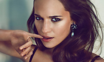 Tomb Raider : découvrez Alicia Vikander la nouvelle Lara Croft !