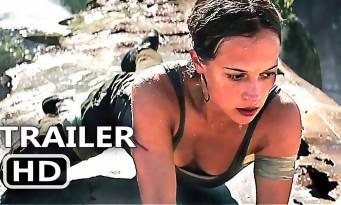 TOMB RAIDER: 10 minutes du film en ligne avec Alicia Vikander - Lara Croft 2018