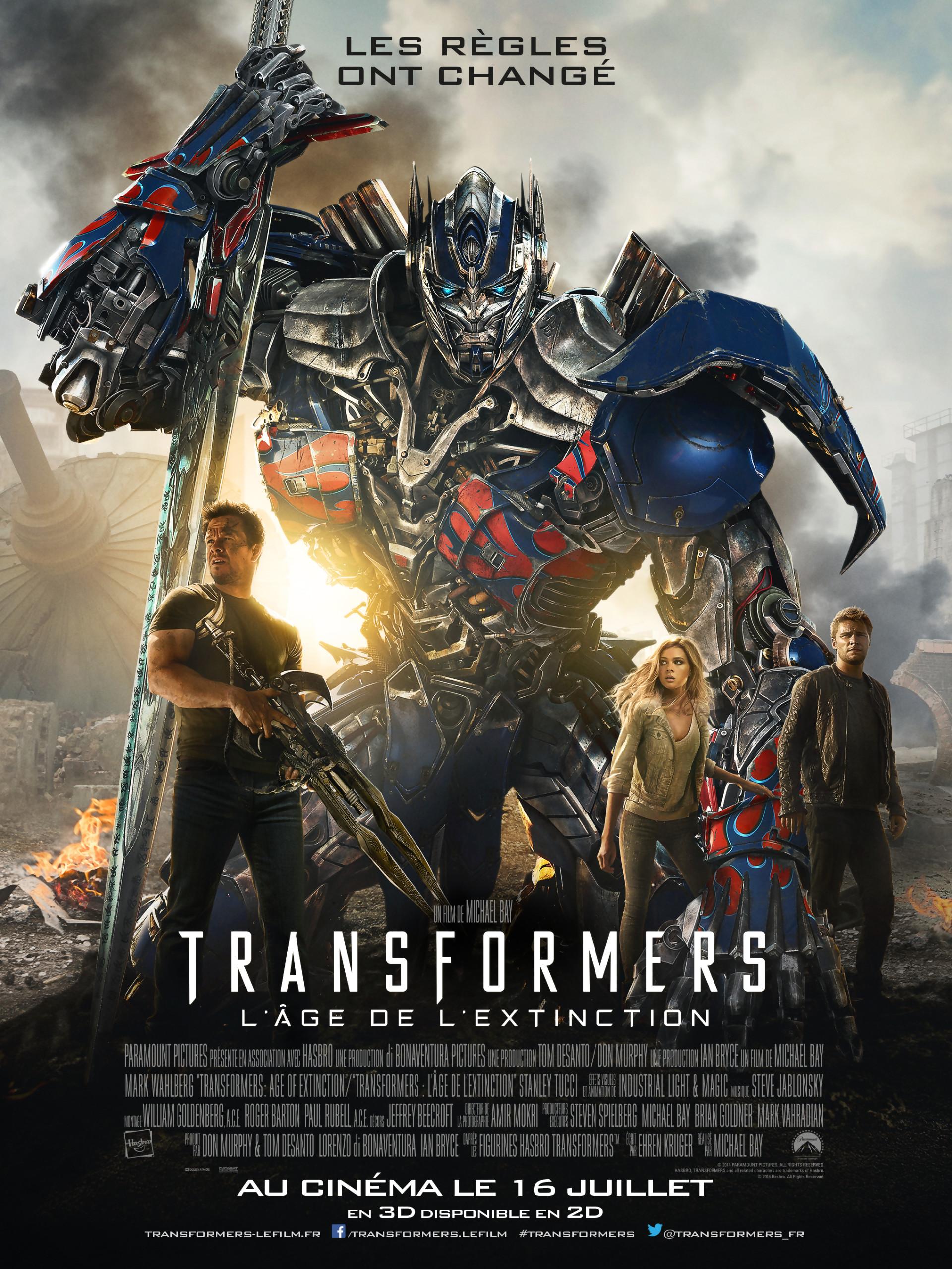 Transformers 4 : l'Age de l'Extinction [HDTS][English]