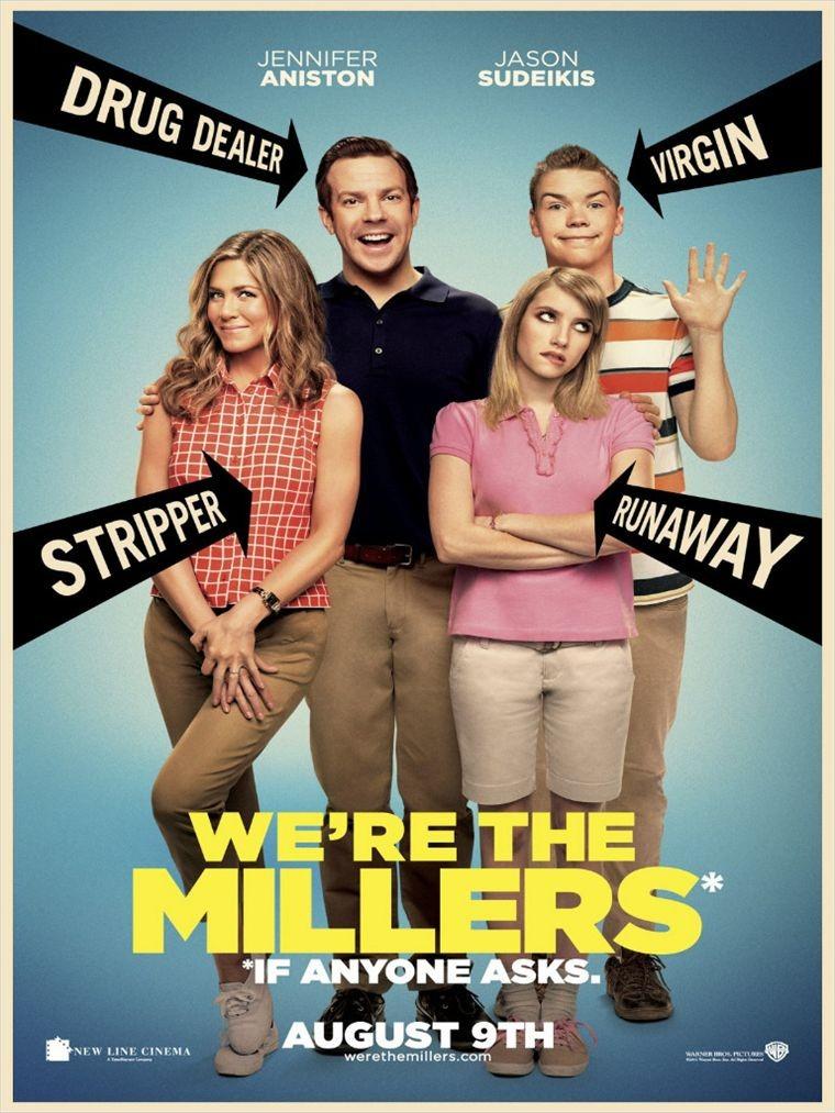 Les Miller, une famille en herbe  | Multi | BRRip| VOSTFR