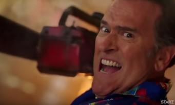 """Ash vs Evil Dead : Bruce Campbell """"J'ai dû entrer ma tête dans le cul d'un mort"""" interview"""