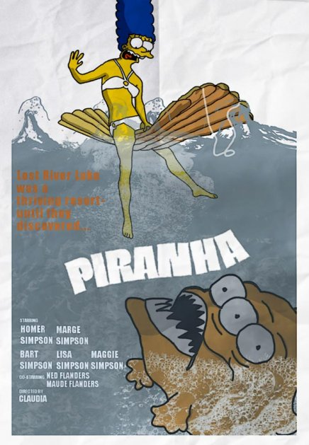 Les Simpsons : parodies d affiches de film