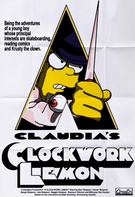 Les Simpsons : parodies d affiches de film