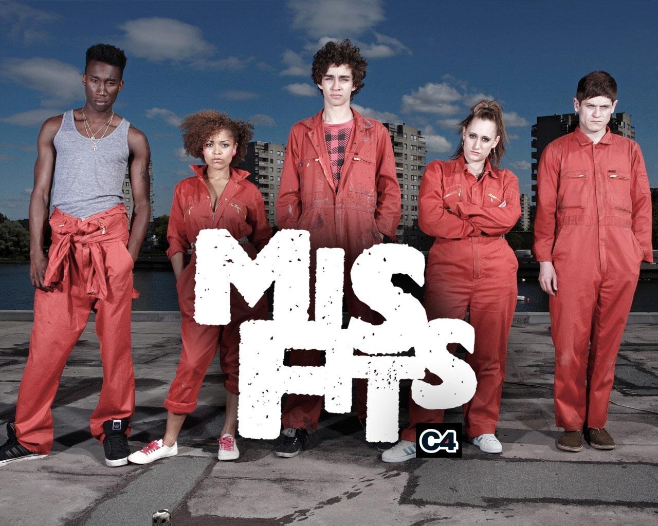 Отбросы/MisFits. Фантастический молодежный сериал.