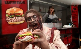 Un burger The Walking Dead pour Halloween