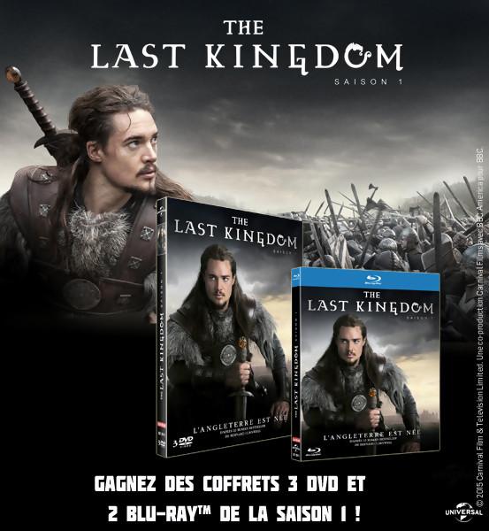 JEU CONCOURS : Gagnez des DVD et BLU-RAY de The Last Kingdom Saison 1