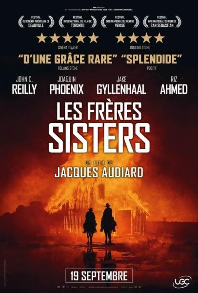 Gagnez des places pour le film Les Frères Sisters de Jacques Audiard