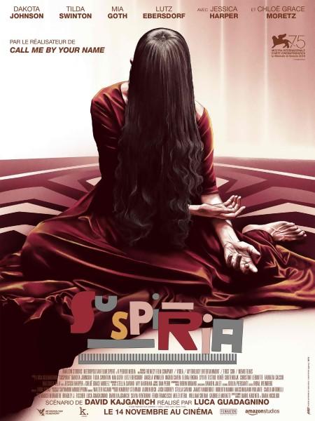 Jeu concours SUSPIRIA : des places de cinéma à gagner + des affichettes