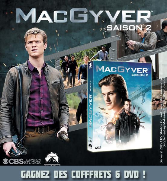 JEU CONCOURS MACGYVER : des coffrets DVD de la saison 2 à gagner