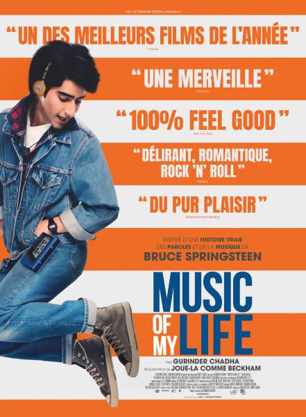 JEU CONCOURS MUSIC OF MY LIFE : des places de cinéma à gagner