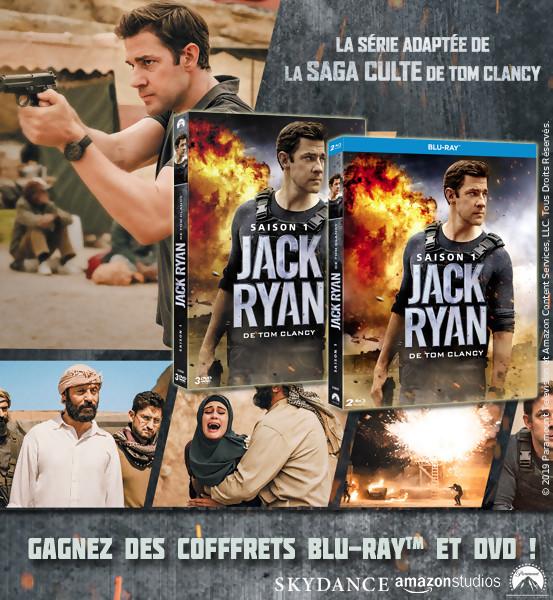 JEU CONCOURS JACK RYAN : des coffrets DVD et Blu-Ray à gagner