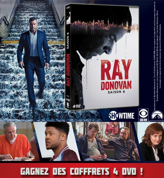JEU CONCOURS RAY DONOVAN : des coffrets DVD de la saison 6 à gagner