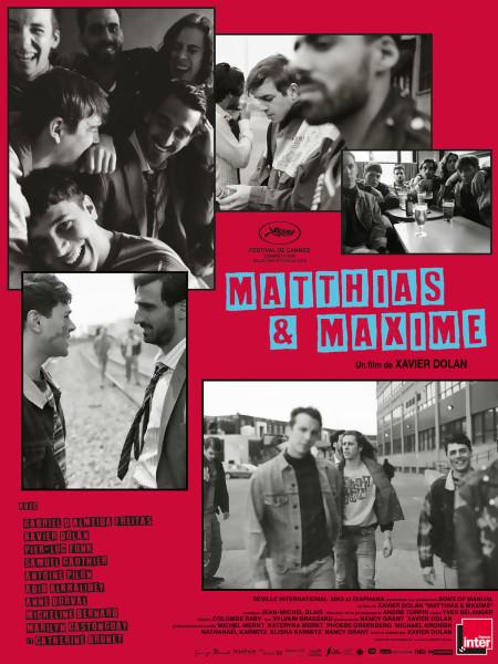JEU CONCOURS MATTHIAS & MAXIME : des places de cinéma à gagner