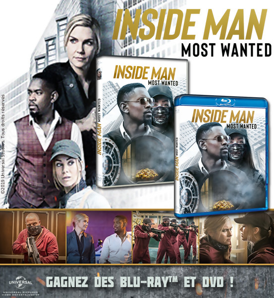 JEU CONCOURS INSIDE MAN MOST WANTED : des DVD et Blu-Ray à gagner