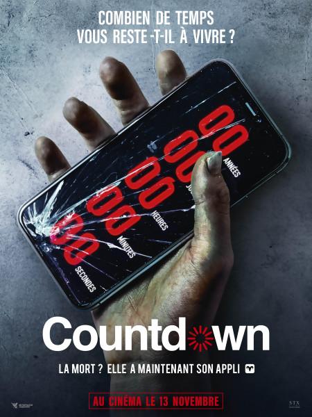 JEU CONCOURS COUNTDOWN : des places de cinéma à gagner
