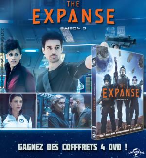 JEU CONCOURS THE EXPANSE SAISON 3 : des coffrets DVD à gagner