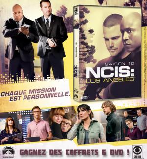 JEU CONCOURS  NCIS LOS ANGELES SAISON 10 : des coffrets à gagner