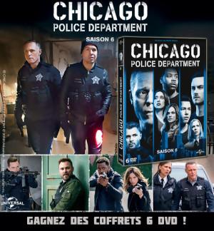 JEU CONCOURS CHICAGO POLICE DEPARTMENT SAISON 6 : des coffrets à gagner