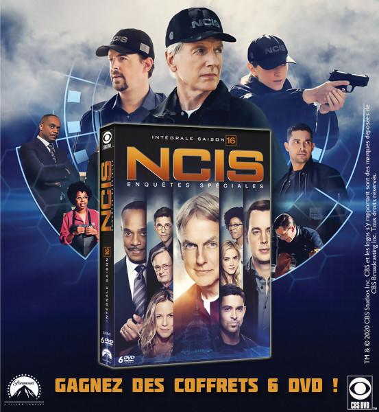 JEU CONCOURS NCIS saison 16 : des coffrets DVD à gagner