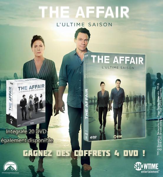 JEU CONCOURS THE AFFAIR SAISON 5 : le coffret DVD à gagner
