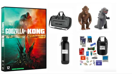 JEU CONCOURS GODZILLA VS KONG : DVD + GOODIES