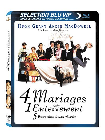 Test Blu-ray Test Blu-ray 4 mariages et 1 enterrement