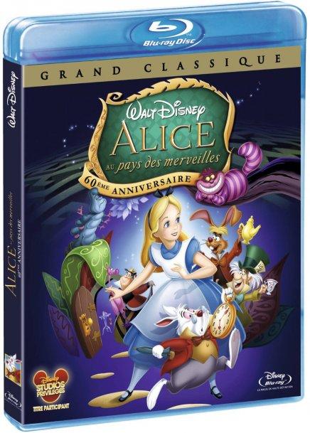 Alice au Pays des Merveilles fête ses soixante ans en blu-ray
