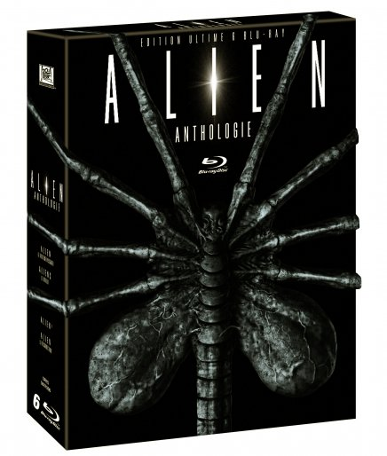 Test Blu-Ray : Alien Anthologie