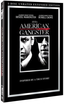 American Gangster - Unrated Edition 2 DVD