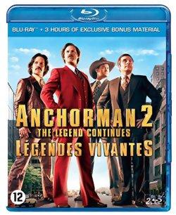 Anchorman 2 : Légendes vivantes - Blu Ray