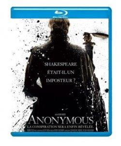 Anonymous Blu ray