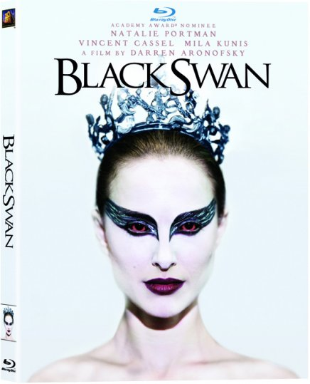 Black Swan Blu ray & DVD