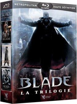 Coffret Blade La Trilogie Blu Ray