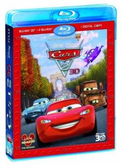 Cars 2  Blu Ray 3D