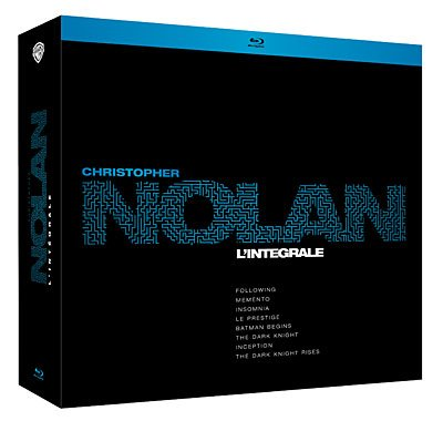 L intégrale de Christopher Nolan en Blu Ray