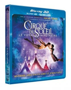 Cirque du Soleil : Worlds Away - Blu Ray 3D