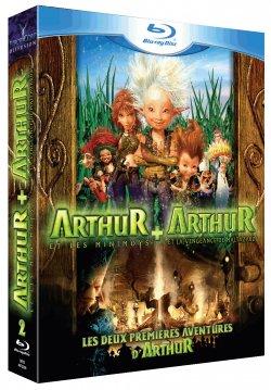 Coffret Arthur et les Minimoys + Arthur et la vengeance de Maltazard