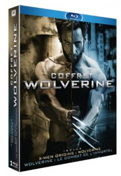 Coffret Wolverine - Blu Ray