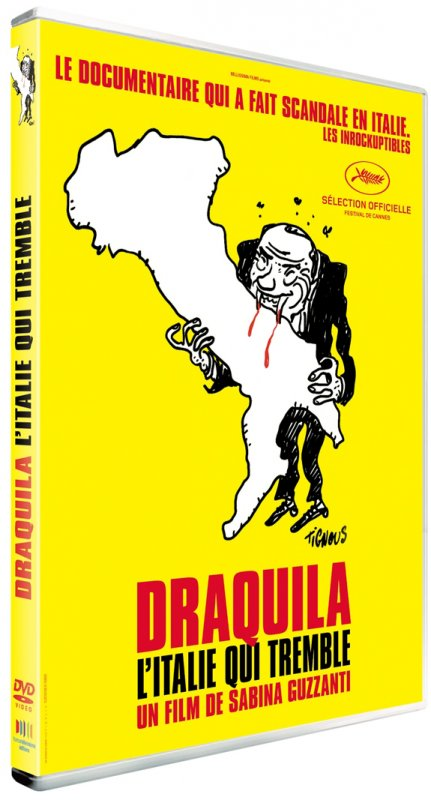 Test DVD Draquila, l'Italie qui tremble