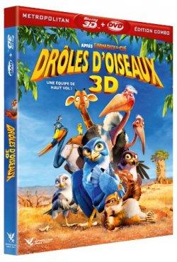 Drôles d'oiseaux - Blu Ray 3D