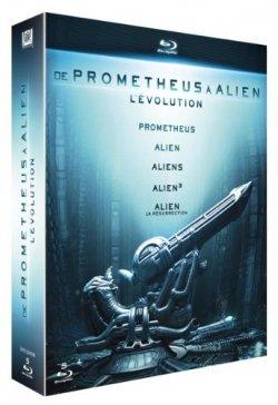 Evolution : De Alien à Prometheus 5 Blu Ray