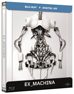 Ex Machina - Blu Ray Steelbook