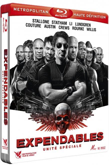Test du Blu-Ray Test du Blu-Ray Expendables : Unité Spéciale