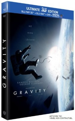 Gravity - Combo Blu-ray 3D